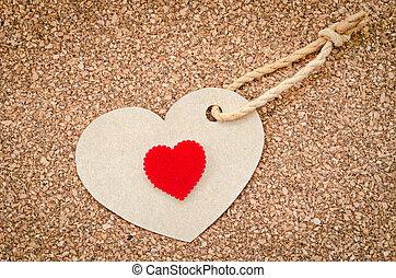 día de valentines, rojo, heart.
