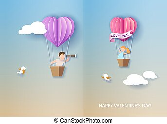 día de valentines, tarjeta