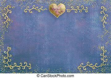 día de valentines, tarjeta, saludo