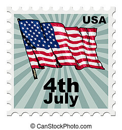 día, estados unidos de américa, independencia