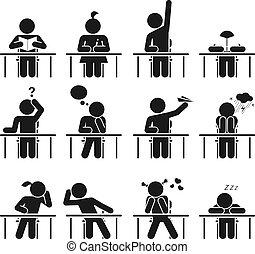días de la escuela