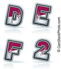 dígitos, y, cartas, capital
