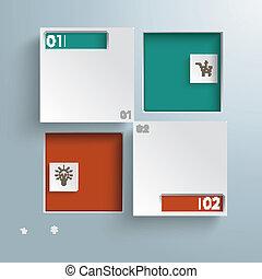 dírka, infographic, čtverec, stříbrný, grafické pozadí