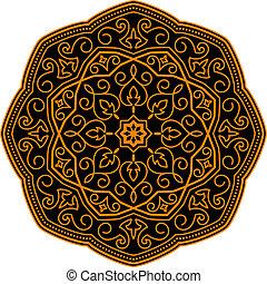 díszítés, középkori