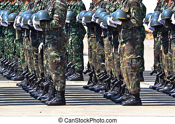 dísz, hadsereg