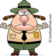 dísztér erdőőr, mérges