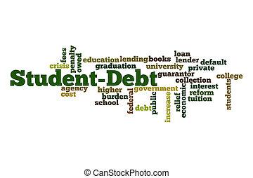 dívida, estudante