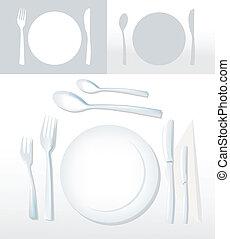 dîner, ensemble
