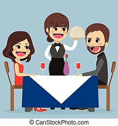 dîner, romantique