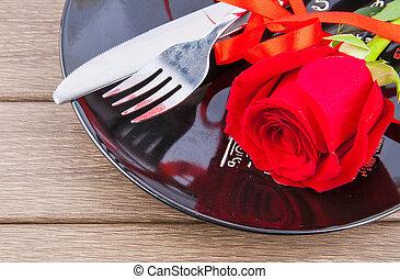 dîner, valentines