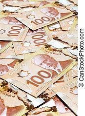 dólar, canadense