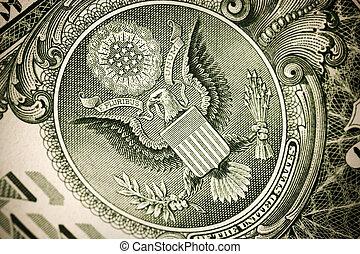 dólar, conceito