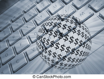 dólar, e, euros