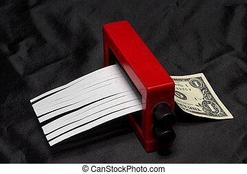 dólar, mudador
