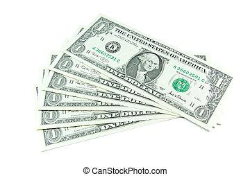 dólar, notas