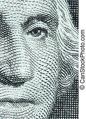 dólar, uno