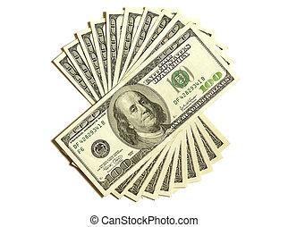 dólares, 1000