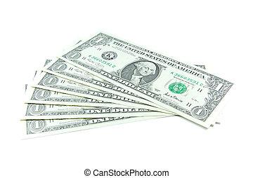 dólares, notas