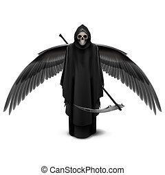 död, two-winged, ängel