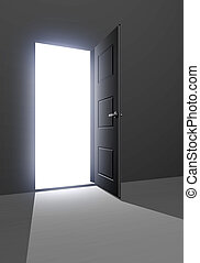 dörröppning, unkown