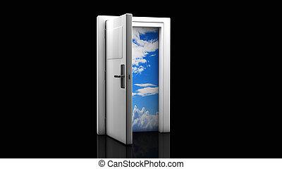 dörr öppna, 3