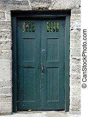 dörr, gammal