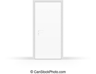 dörr, vit