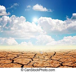 dürre, land