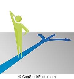 dělání, rozhodnutí, metafora, povolání