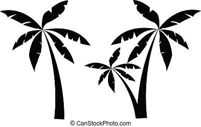 dłoń drzewo