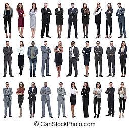 długość, pełny, colection, ludzie
