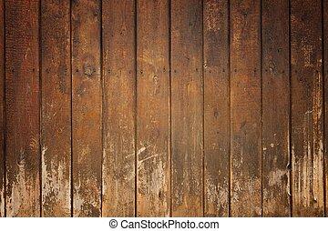 dřevěný, dávný, deska