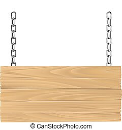 dřevěný, firma, dále, pouta, ilustrace