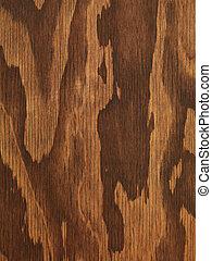 dřevěný, hněď, překližka, tkanivo
