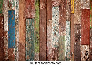 dřevo, grunge, tkanivo