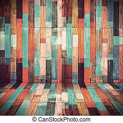 dřevo, hmota, grafické pozadí, jako, vinobraní, tapeta