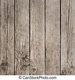 dřevo, vektor, prkna, tkanivo, dno