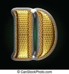 d, ベクトル, 金, 数字, 銀
