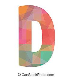D alphabet