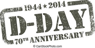 d - day, aniversario