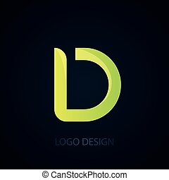 d., jel, vektor, levél, ábra
