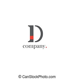 D letter company Logo