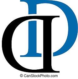 d, logo