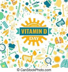 d, vitamine, jour