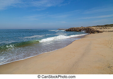 da, barra., 浜, barra, praia