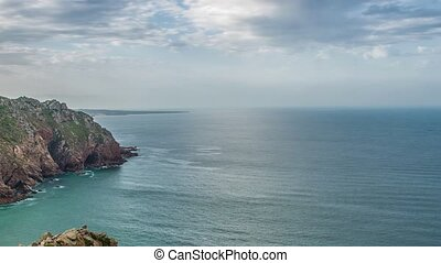 da, cabo, formes, roca, westernmost, europe., continent, ...
