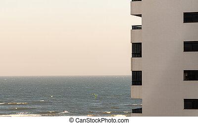 da, cidade, praia, brasil, tramandai, 04, de, estropear
