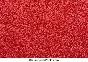 dabbed, résumé, fond, orange, peinture, rouges