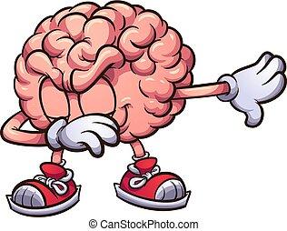dabbing, cerebro