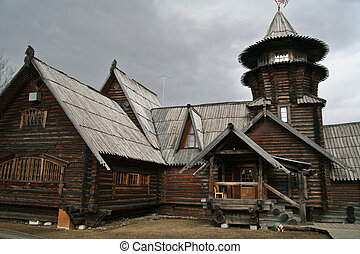 Dacha a Russian seasonal or year-round second home